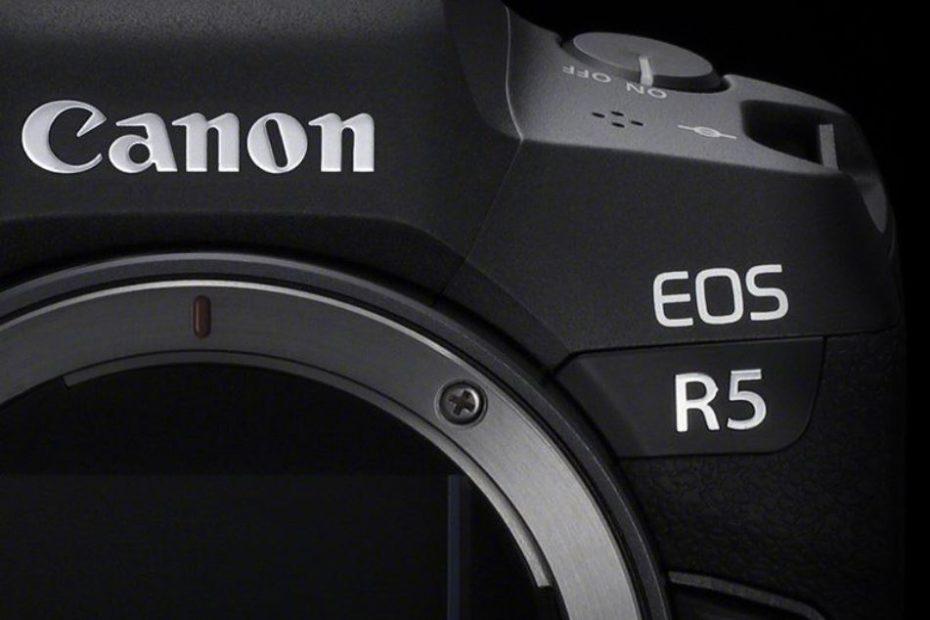 Canon Eos R5 hybride