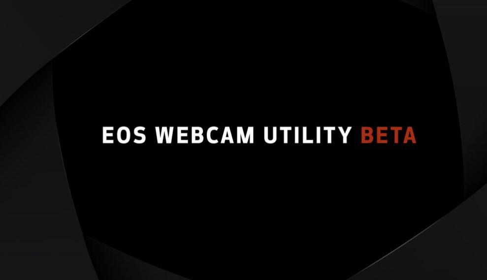 Capture eos webcam utility